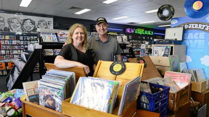 PASSION: Jo and John Wilton, owners of Network Video Winston Glades, say a smile and diversification is the key to survival in a digital age.