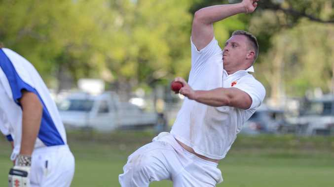 SIGHTS SET: Westlawn bowler Rohan Hackett  will be back in attack against GI Tucabia Copmanhurst today.