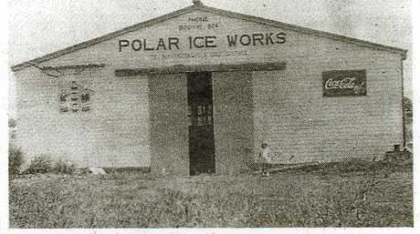 The once-famous Polar Ice Works that was later demolished to make way for Booval shopping centre