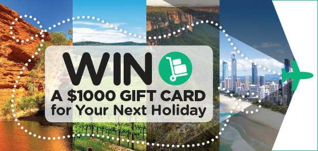 Win a $1000 Holiday!