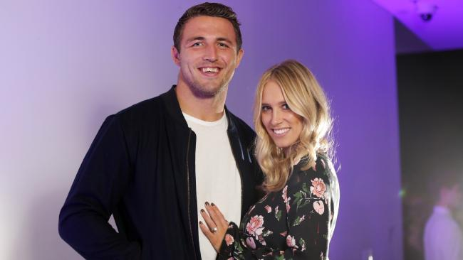Sam and Phoebe Burgess will remain in Australia. Picture: Christian Gilles