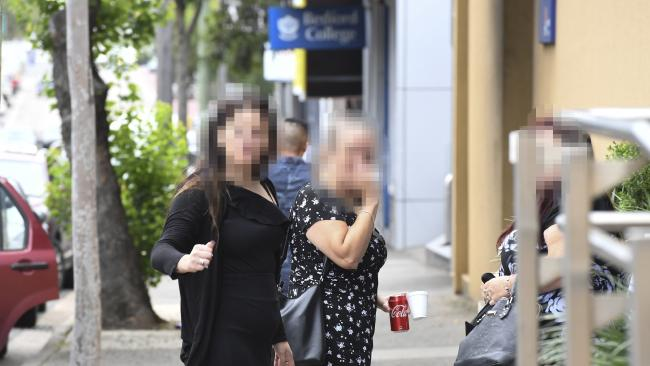The mother (left) and Grandmother (right) of BLGN and DG attended the inquest at Glebe Coroner's Court in Sydney. Source: AAP Image/Peter Rae.