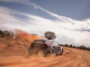 Hyundai i30 was tested at Alice Springs.