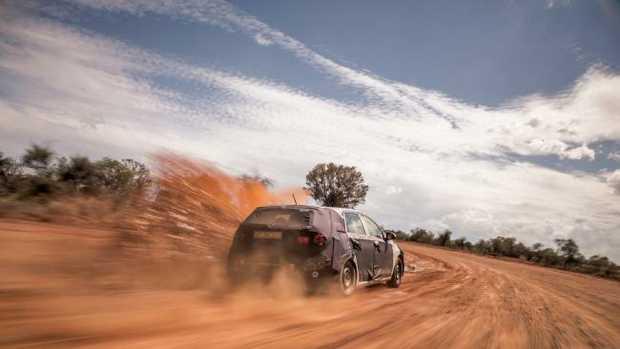 Hyundai i30 was tested at Alice Springs.