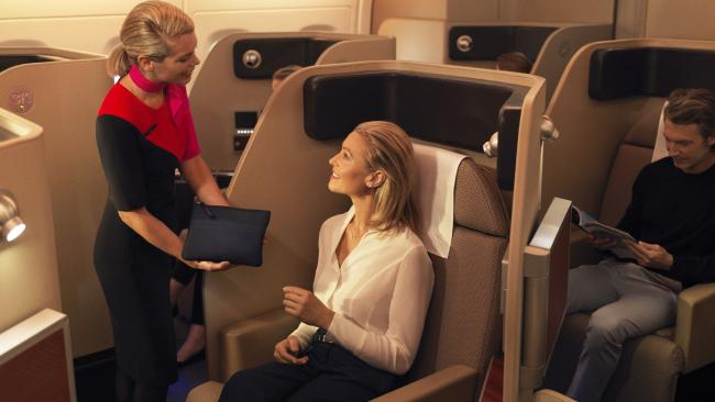 Here's what flying First Class is like.