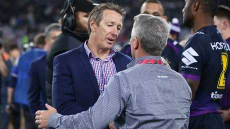 Johnathan Thurston believes Paul Green can have the same long-term impact at the Cowboys as Craig Bellamy has had at the Storm. Photo: Mark Metcalfe