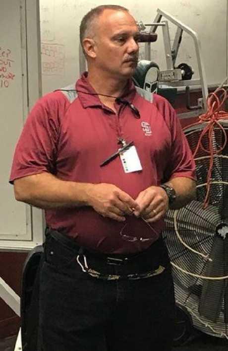 Chris Hixon was the school's athletic director. Picture: Facebook