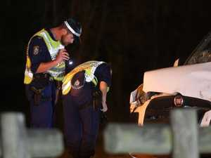 Police officers seriously hurt in RBT horror crash
