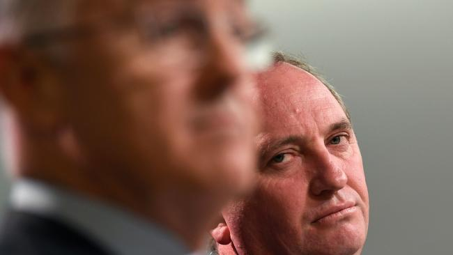 The Turnbull Joyce bromance is dead. Picture: William West / AFP