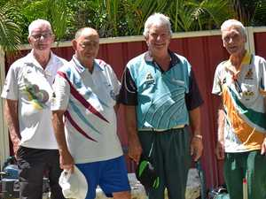 Bowlers enjoy a day out on the greens