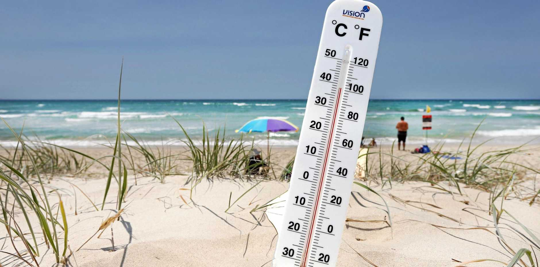 The North Burnett reached temperatures above 40 degrees on Thursday.