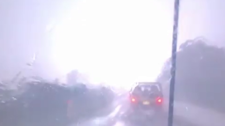 A screenshot from Higgins Storm Chasing's video.