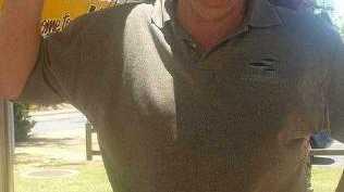 Bruce Saunders died a violent death.