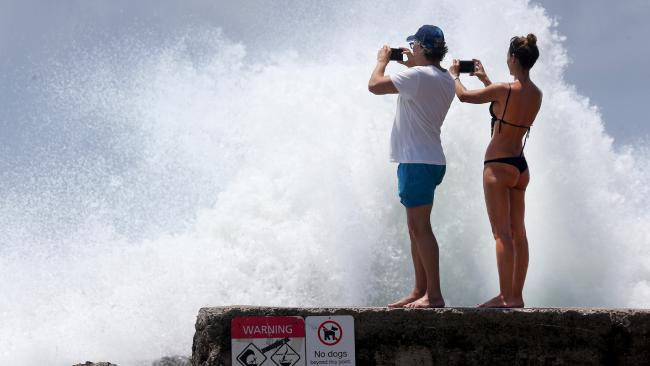 Warnings to stay clear of dangerous beaches in Cyclone Oma aftermath