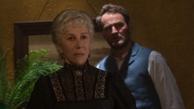 Helen Mirren and Jason Clarke face down the spooks in Winchester.