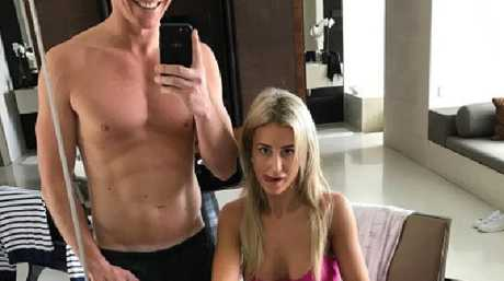 Oliver Curtis said wife Jacenko 'made me wait' to have sex after he walked from jail.