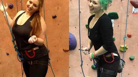 Ms Judith has now learned to rock climb, and has a new partner.