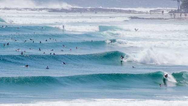 Man swept out to sea on NSW coast