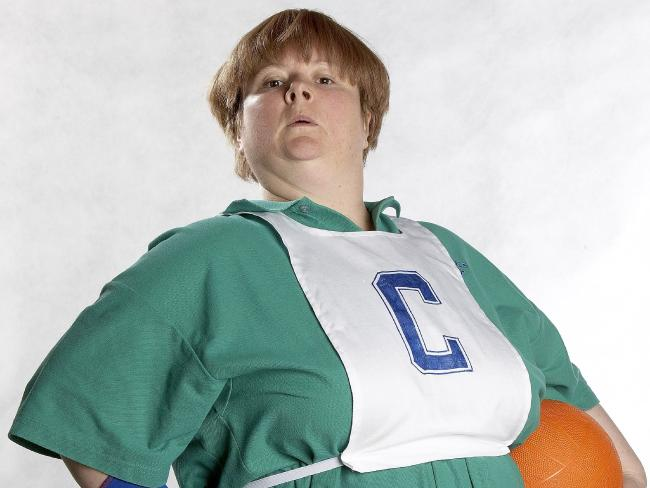 Magda Szubanski as Sharon Strezleckie from Kath and Kim.