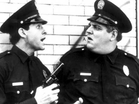 If Steve Guttenberg (left) wasn't in a 1980s movie, it wasn't worth watching.