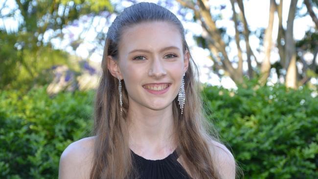Outstanding Academic Achiever: Rachel Hauenschild, of Kenmore State High School.