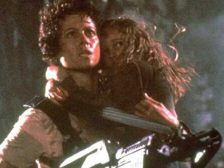 Sigourney Weaver as the brilliant Ellen Ripley.