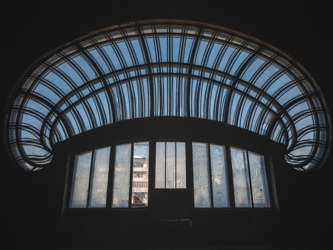 Incredibly ornate windows. Picture: Jakub Kyncl
