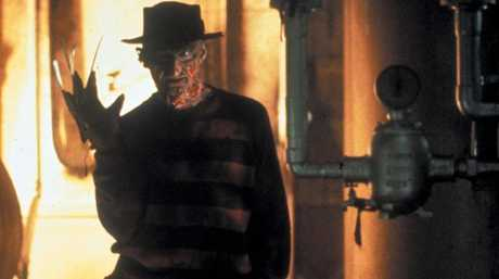 Robert Englund as Freddie Kreuger featured in millions of nightmares in the 1980s.