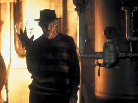 Robert Englund as Freddie Kreuger featured in millions of nightmares in the 1980s.