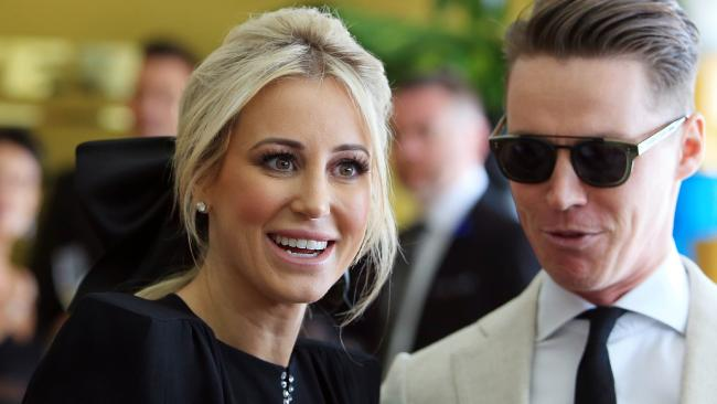 Roxy Jacenko and Oliver Curtis have talked about their sex life since his prison release last year. Picture: Aaron Francis.