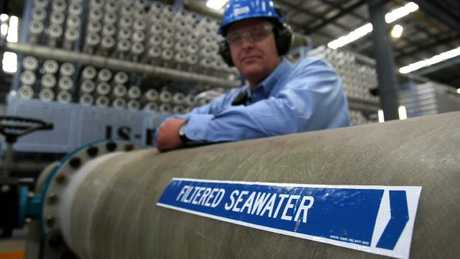 Perth has not one, but two, huge desalination plants.
