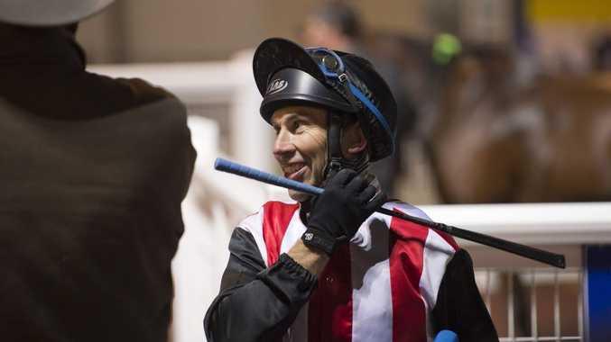 Veteran jockey hospitalised after fall in Toowoomba race