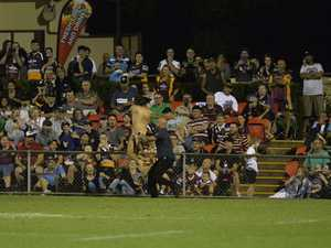 WATCH: Charges laid as streaker invades city NRL match