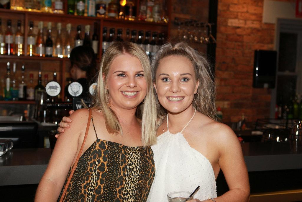 Maddie Eliott and Kristen Currie at Muller Bros  | Buy