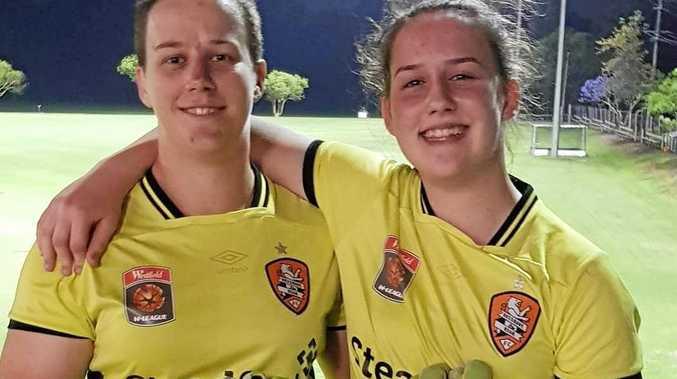 Sisters Kirsten (left) and Lauren Vereen.