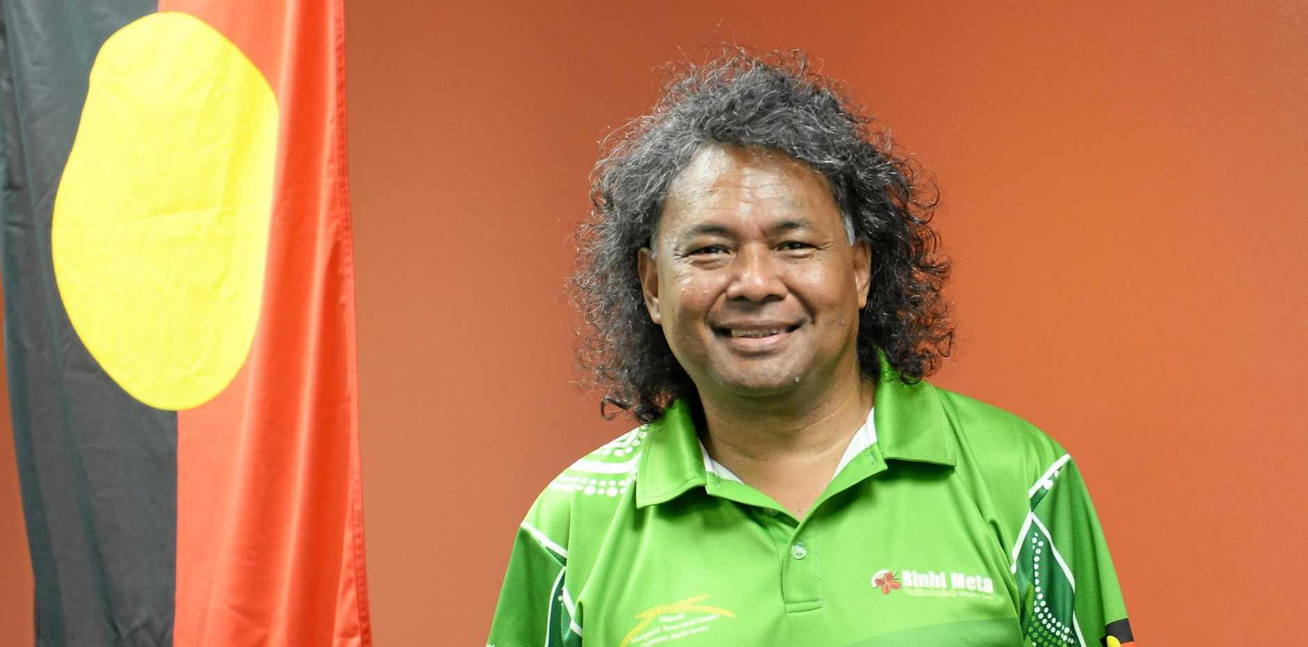 CEO of Bidgerdii Community Health Service Thelap Ahmat.