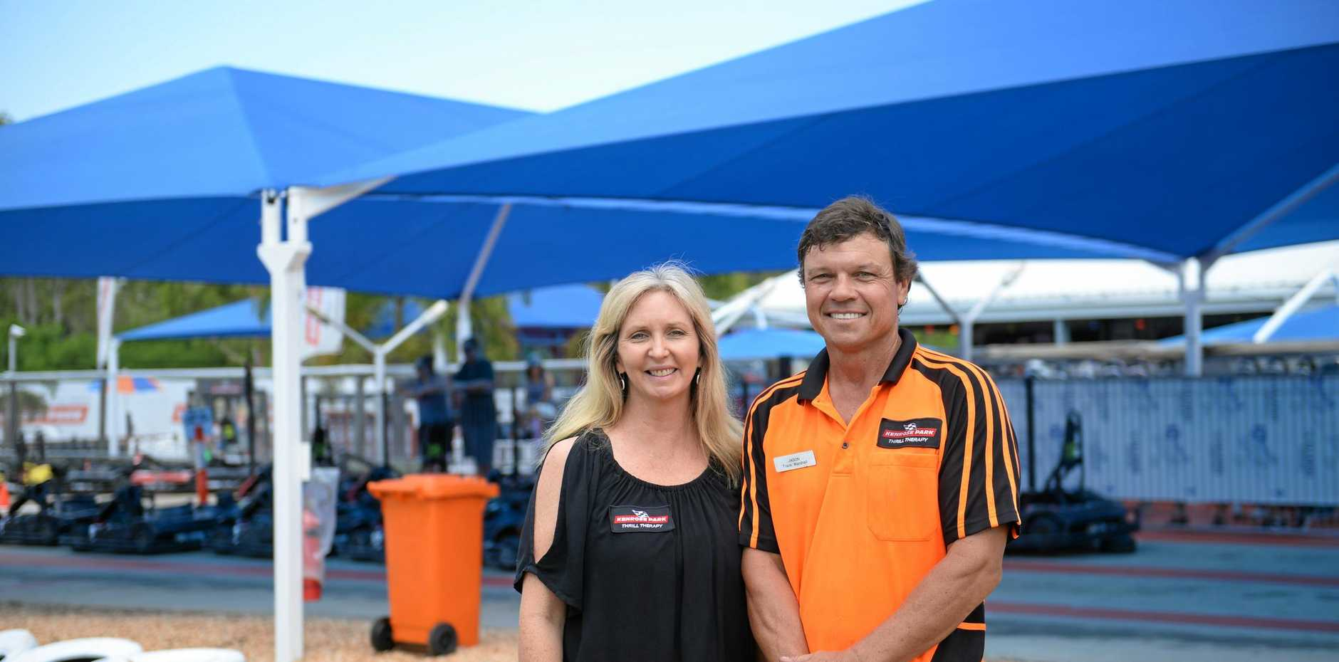 GREAT OPPORTUNITY: Kim and Jason Rose, owners of Kenrose Park, are asking for 'expressions of interest' for the ownership of their track.