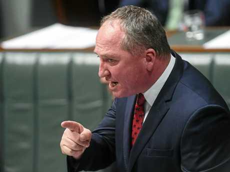 Deputy PM Barnaby Joyce .