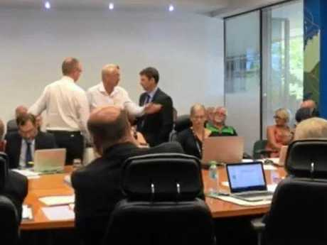 FIRED UP: Jeff Boyle was evicted from Wednesday's Mackay Regional Council meeting after threatening to sue the council over a DA decision.