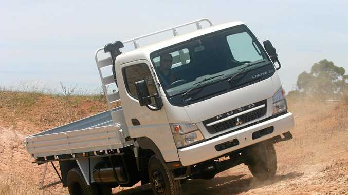 A vehicle similar to this was involved in an accident last night. The Mitsubishi Fuso Canter FG 4x4.