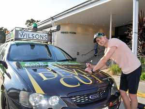Supercars ace Winterbottom blesses Dunga Derby vehicle