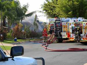 Cannonvale house goes up in flames