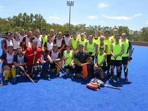 Hockey teams support Brett Forte Fund at weekend
