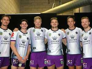 Six of the Falcons best lace up with Storm in NRL trial