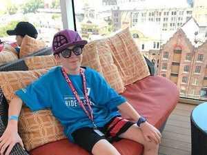 Is this Kilcoy boy Australia's sneakiest kid?