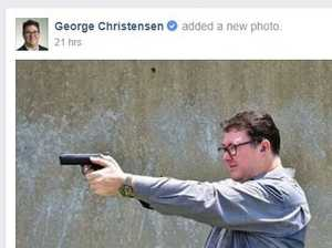 Christensen reported to police for 'appalling' photo