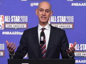 Police holding man over NBA boss threat