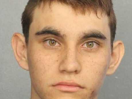 Nikolas Cruz's police mugshot. Picture: Supplied