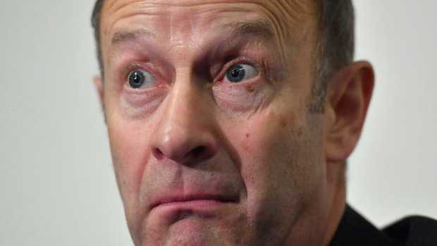 Henry Bolton, leader of UKIP, has been removed from his position in fallout from racist comments made by his girlfriend. Picture: AFP