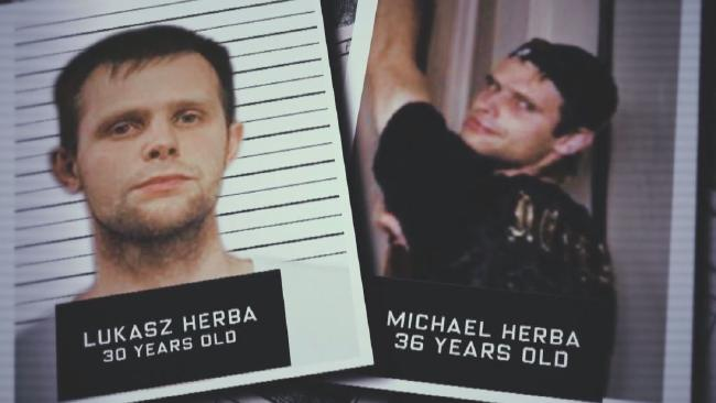 The Herba brothers accused of the kidnap. Picture: Channel 9/60 Minutes